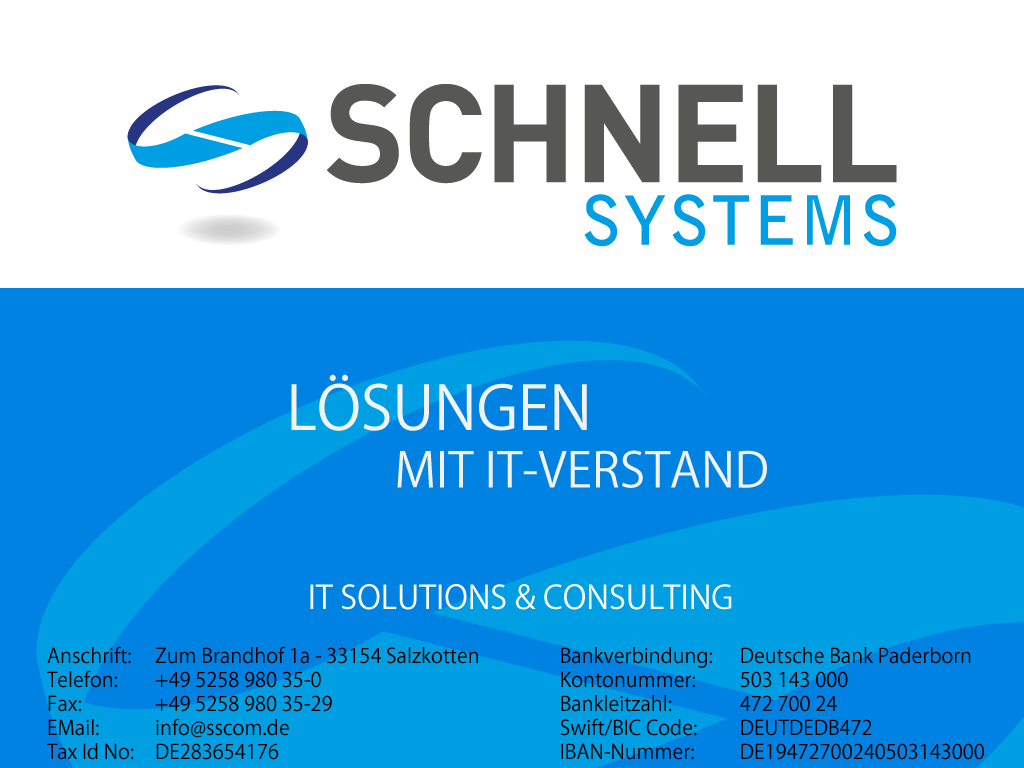 Schnell Systems GmbH & Co.KG